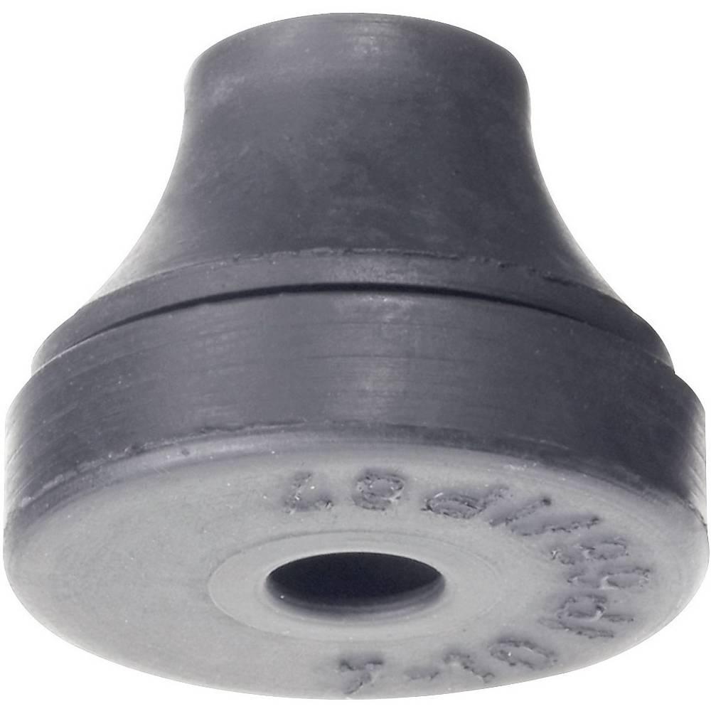 Kabelska uvodnica premer sponke (maks.) 14 mm kloropren-kavčuk črne barve PB Fastener 1103-CR-SW 1 kos