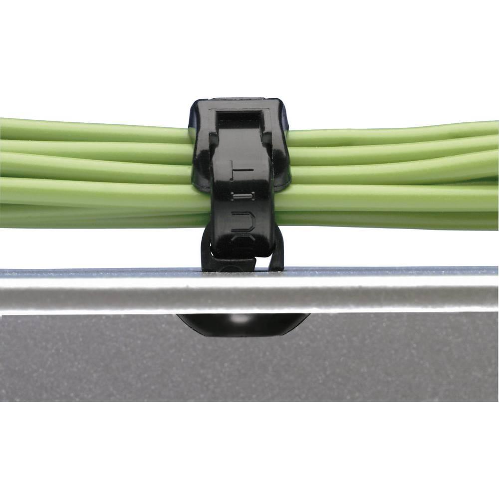Panduit PBMS-H25-C-Kabelska vezica s patentnim zatvaranjem, bijela, 1 komad