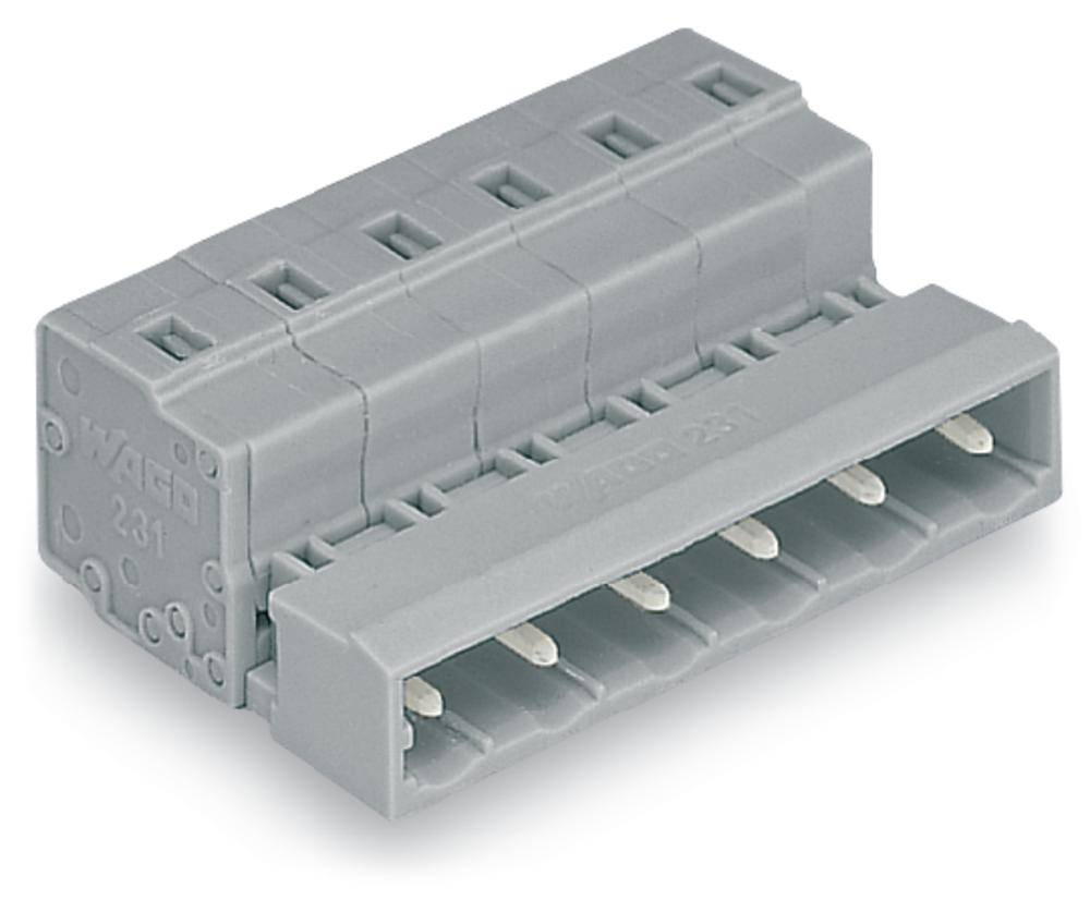 Pinski konektor (standarden) WAGO 731-603, mere: 7.50 mm 100 kosov