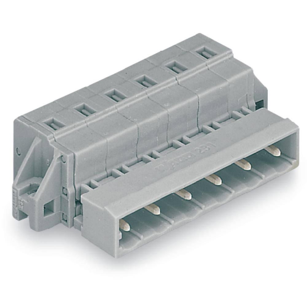 Pinski konektor (standarden) WAGO 731-607/019-000, mere: 7.50 mm 25 kosov