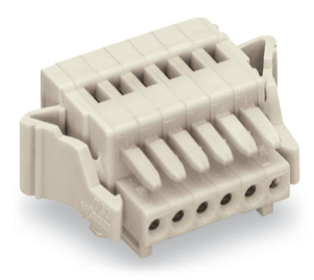 Tilslutningskabinet-kabel 733 Samlet antal poler 2 WAGO 733-102/037-000 Rastermål: 2.50 mm 100 stk