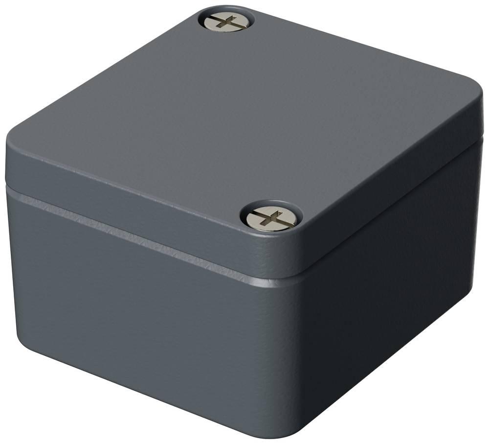Bopla A 100-Univerzalno kućište, aluminij, srebrno sivo (RAL 7001), 50x45x30mm 01100000.MT1