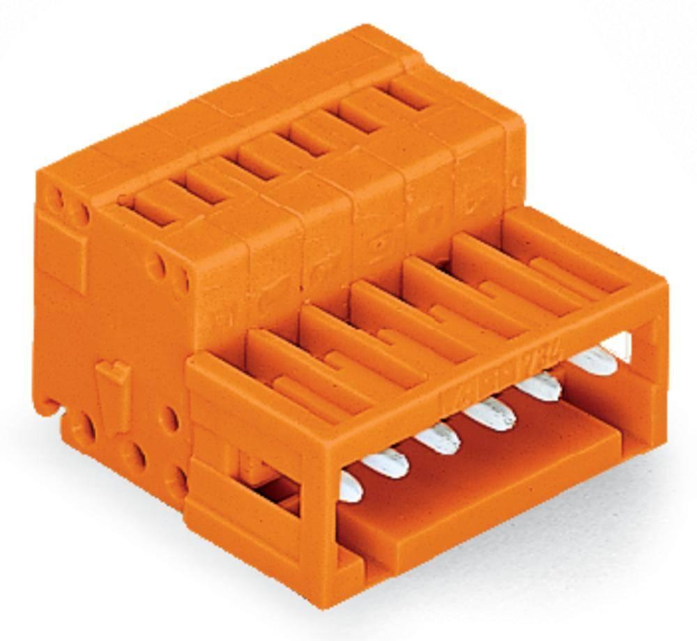 Pinski konektor (standarden) WAGO 734-336, mere: 3.81 mm 100 kosov