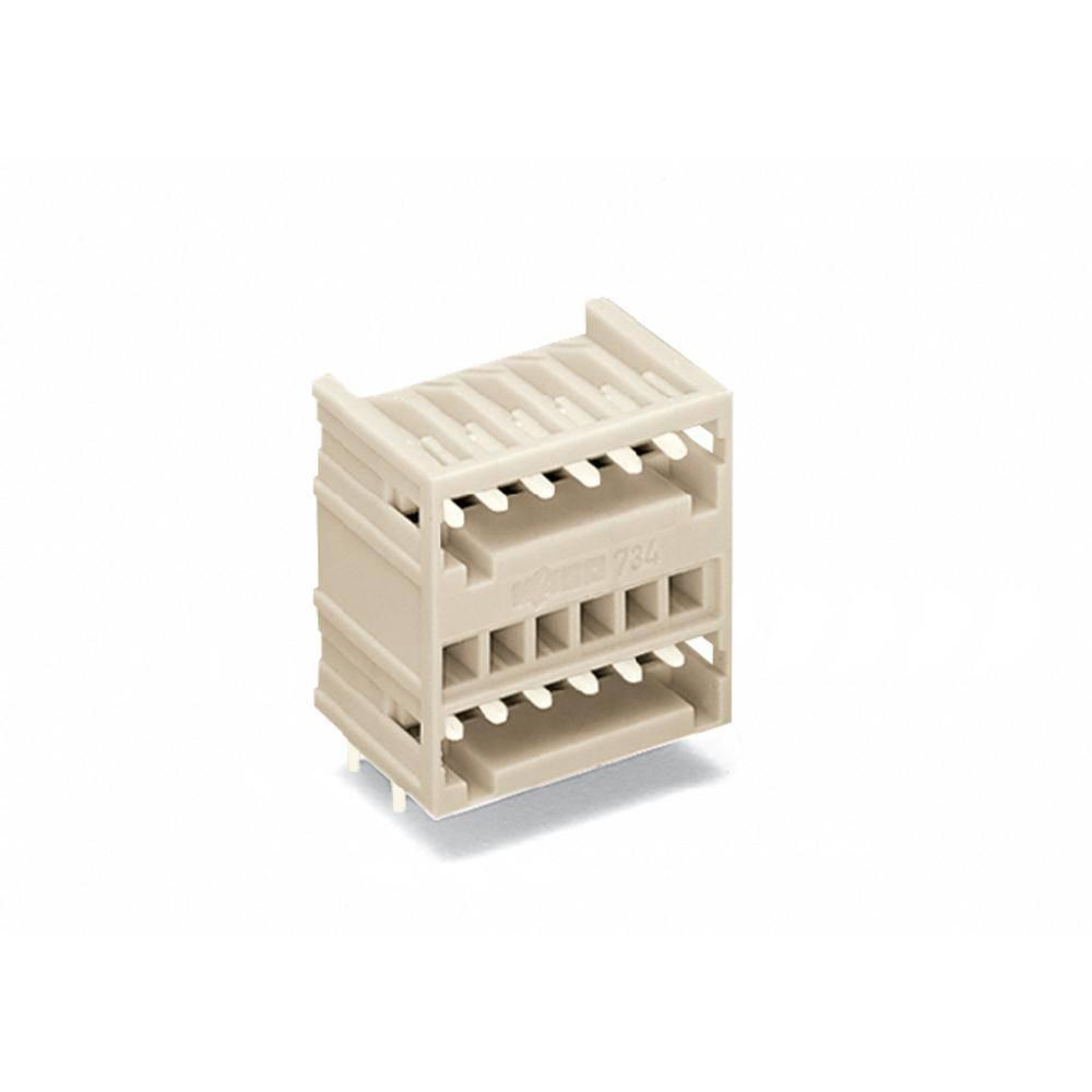 Pinski konektor (standarden) WAGO 734-406, mere: 3.50 mm 100 kosov