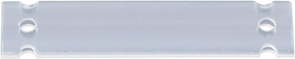 Oznake za kable, montaža: na kabelske vezice, površina: 52 x 25 mm primerne za etikete, enojne žice, univerzalna uporaba transpa