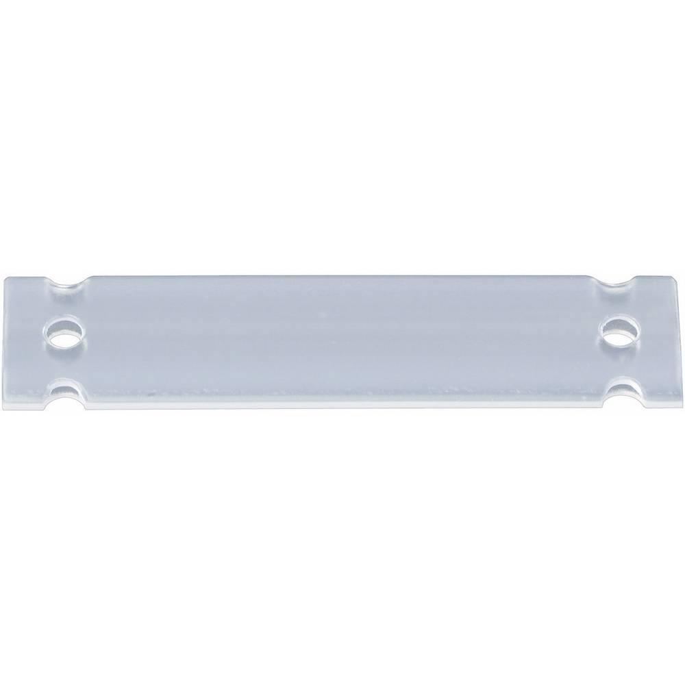 Oznake za kable, montaža: na kabelske vezice, površina: 17.5 x 13 mm primerne za etikete, enojne žice, univerzalna uporaba trans