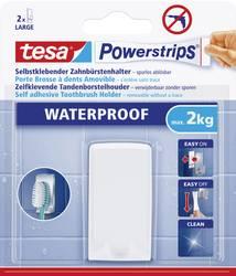 tesa Powerstrips® Vattentät Tandborsthållare tesa 59702 Vit 1 st