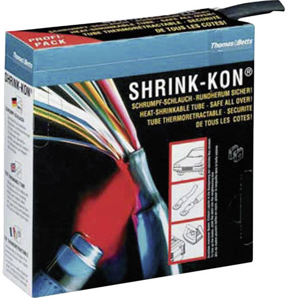 Toplotno skrčljiva cev (Dispenser-Box) Shrink-Kon 2:1, 7,5 m, črna, Thomas & Betts.. HSB 250 ABB
