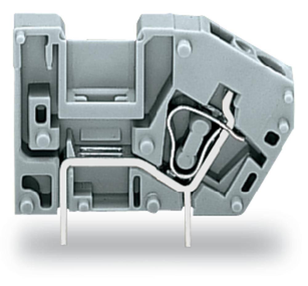 Fjederkraftsklemmeblok WAGO 2.50 mm² Poltal 1 Blå 300 stk