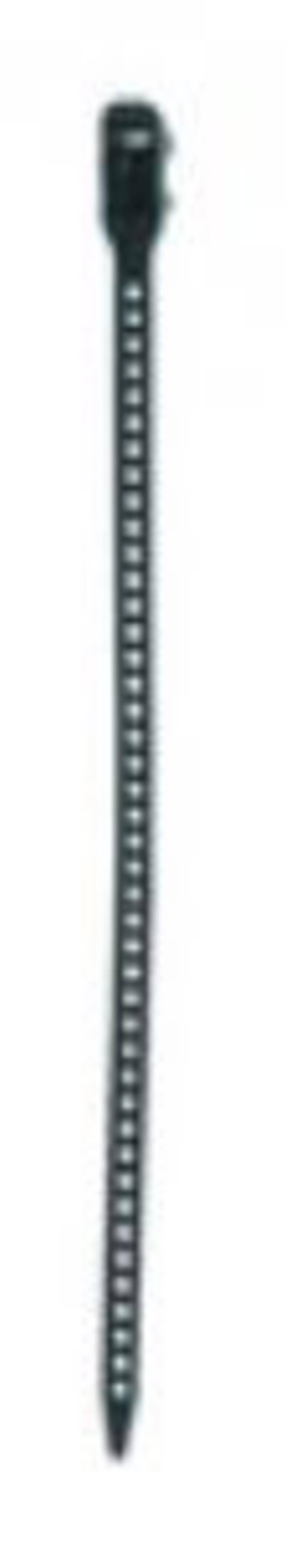 Kabelske vezice 180 mm črne barve, odvezljive, temperaturno stabilne, UV-stabilne, zelo fleksibilne,HellermannTyton 115-07189 SR
