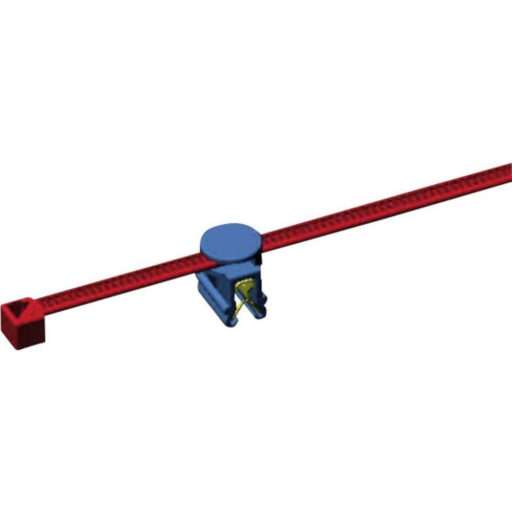 Kabelske vezice 200 mm črne barve, vrtljivo držalo HellermannTyton 156-01601 CBTO50R-PA66-BK-D1 1 kos