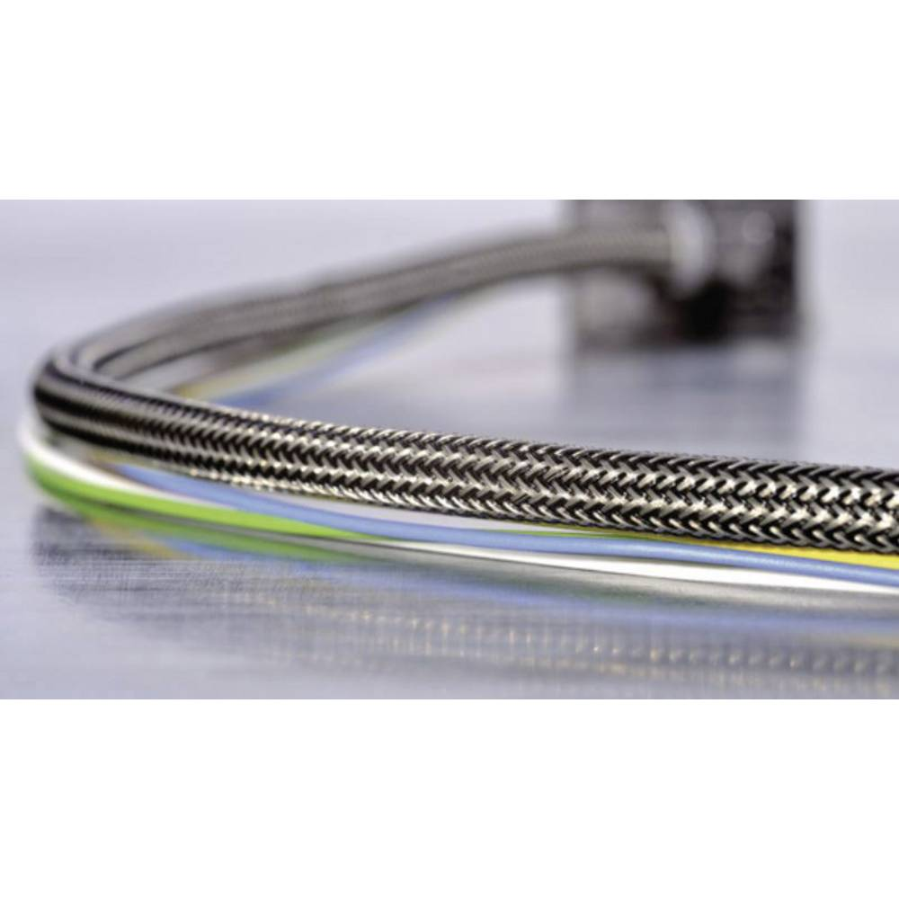 Helagaine EMV-pletena cev, premer snopa-: 8 - 13 mm HEGEMIP10-CUSP-L4;HellermannTyton vsebuje: meterski snop