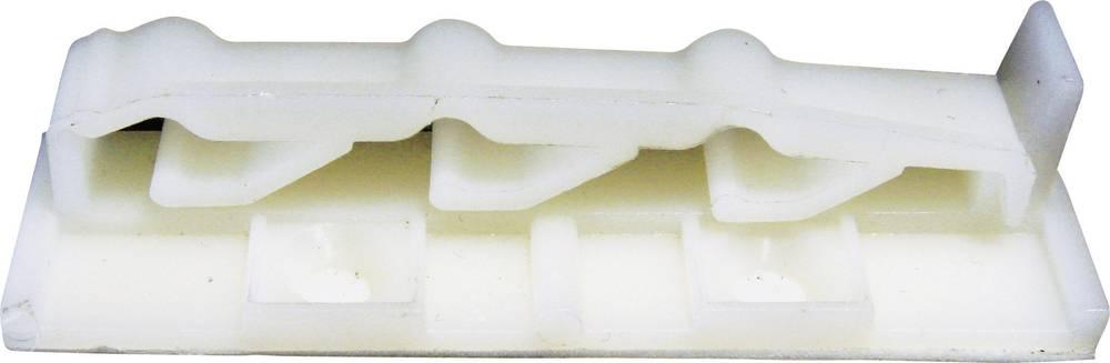 Pritrdilno podnožje za ploščati kabel naravne barve PB Fastener 332-7122-500 1 kos