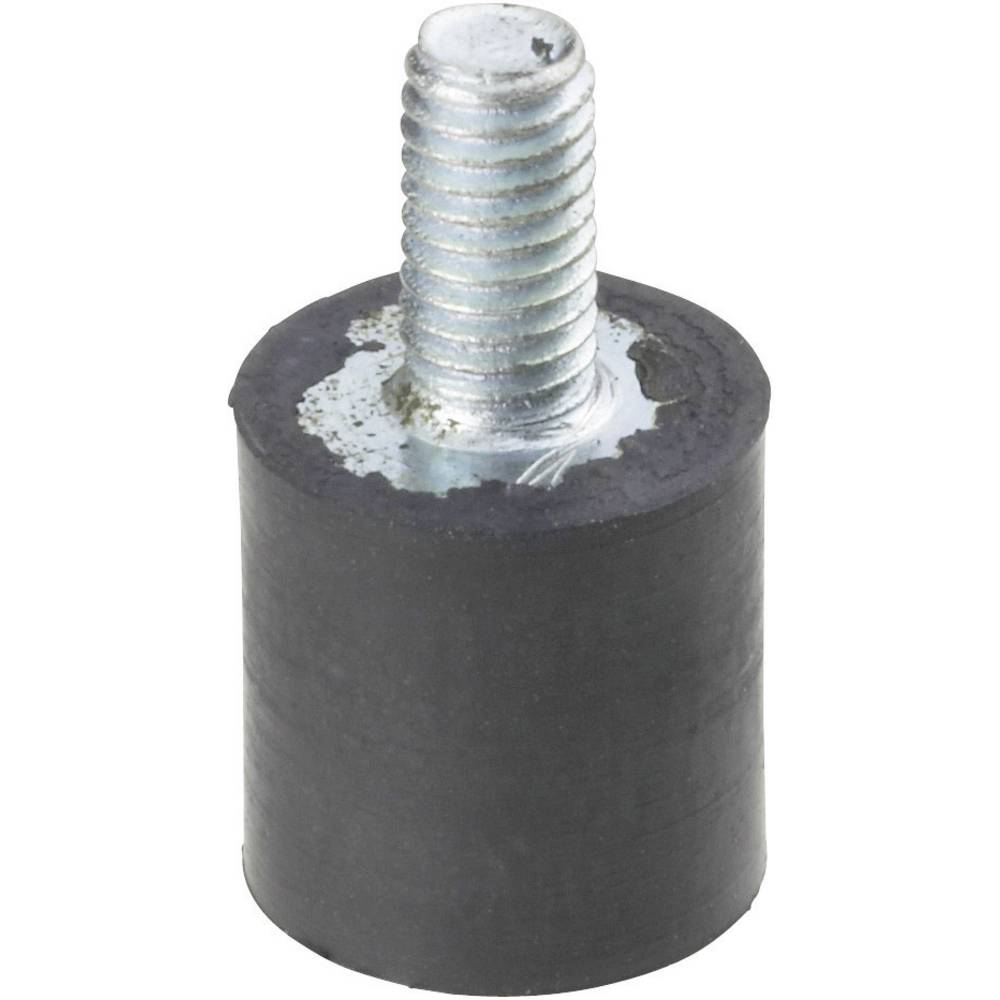 PB Fastener-Navojni ublaživač 100522, crn