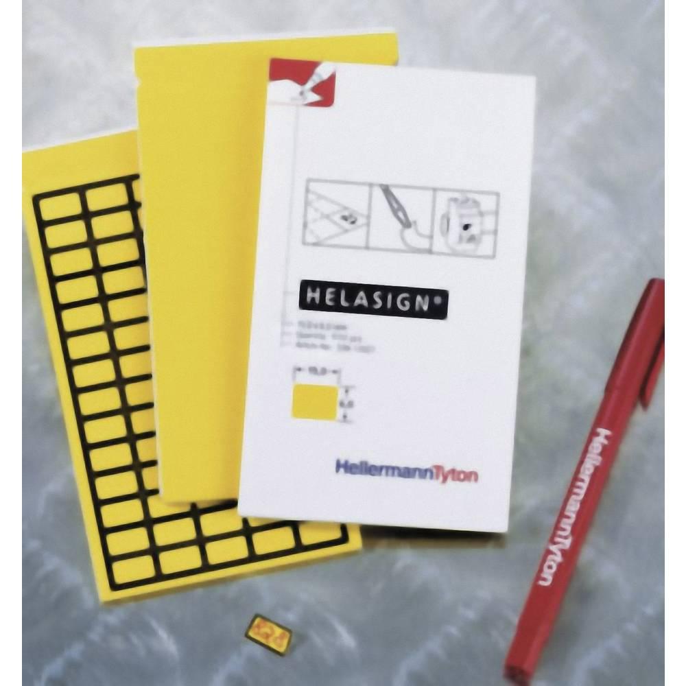 Etikete za označevanje kablov Helasign 20 x 8 mm označevalno polje: rumene barve HellermannTyton 598-92127 TAG121FB-270-YE Anzah