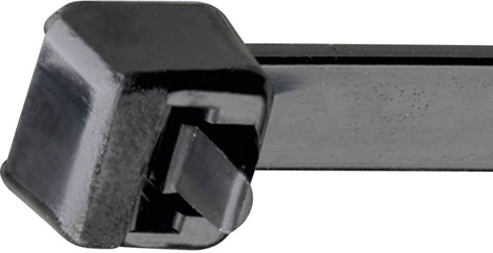 Kabelske vezice 292 mm črne barve, odvezljive, UV-stabilno, odporno na vremenske vplive Panduit RCV580XL 1 kos