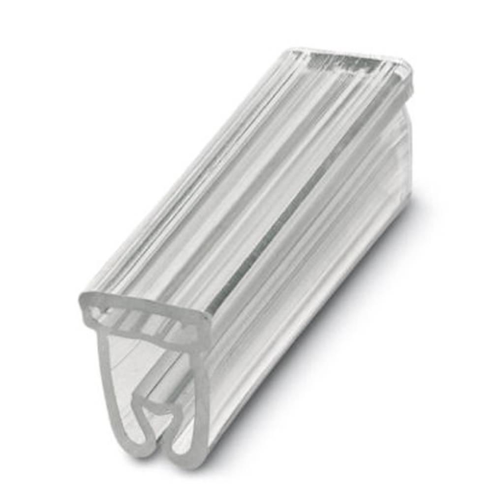 Nosilec oznak, montaža: vstavljanje, površina: 18 x 4.20 mm primeren za serijo posamezne žice, prozorne barve Phoenix Contact CA