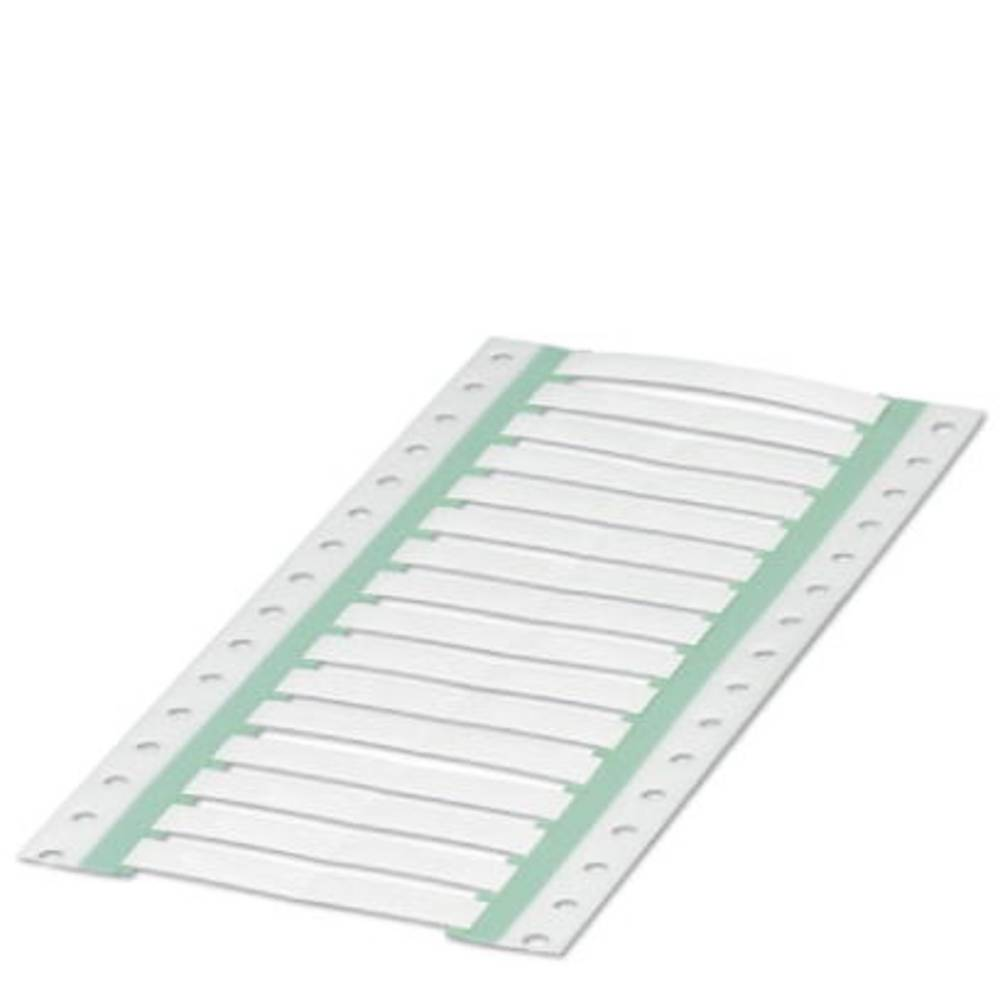 Etikete za skrčljive cevi, montaža: vstavljanje, površina: 60 x 9 mm bele barve Phoenix Contact WMS 4,8 (60X9)R 0800366 št. mark