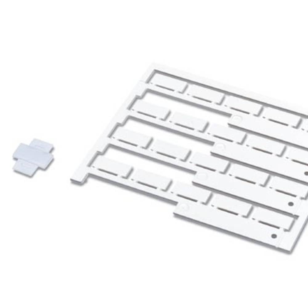 Označevalnik kablov, površina: 9 x 20 mm primeren za univerzalno uporabo, srebrne barve Phoenix Contact PKE 9X20 0803980 12 kosa