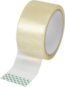 Förpackningsband Basetech Transparent (LxB) 50 m x 48 mm Basetech SH1998C345 1 rullar