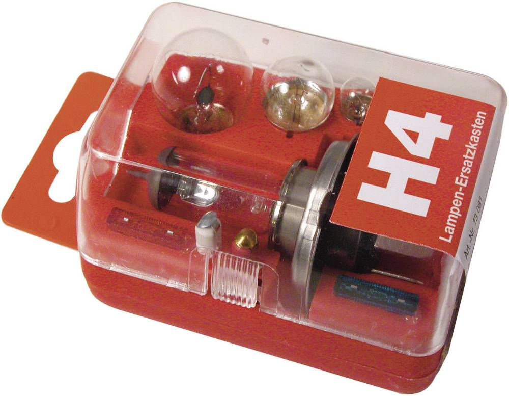 Pære-sortiment Unitec Standard H4