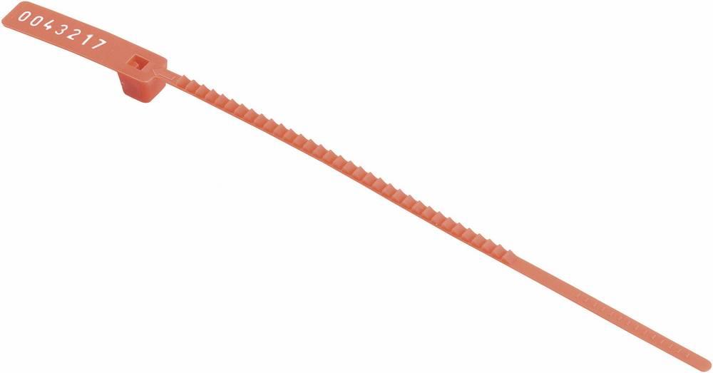 Kabelske vezice-Plombe 160 mm rdeče barve HellermannTyton 143-03012 S20-N66-RD-D1 1 kos