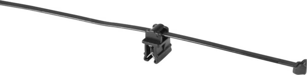 Kabelske vezice 200 mm črne barve HellermannTyton 156-00020 T50ROSEC20-MC5-BK-D1 1 kos