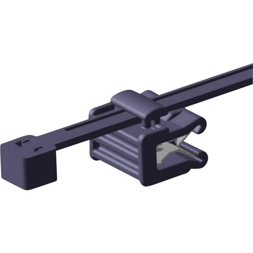 Kabelske vezice 200 mm črne barve HellermannTyton 156-00011 T50ROSEC22-MC5-BK-D1 1 kos
