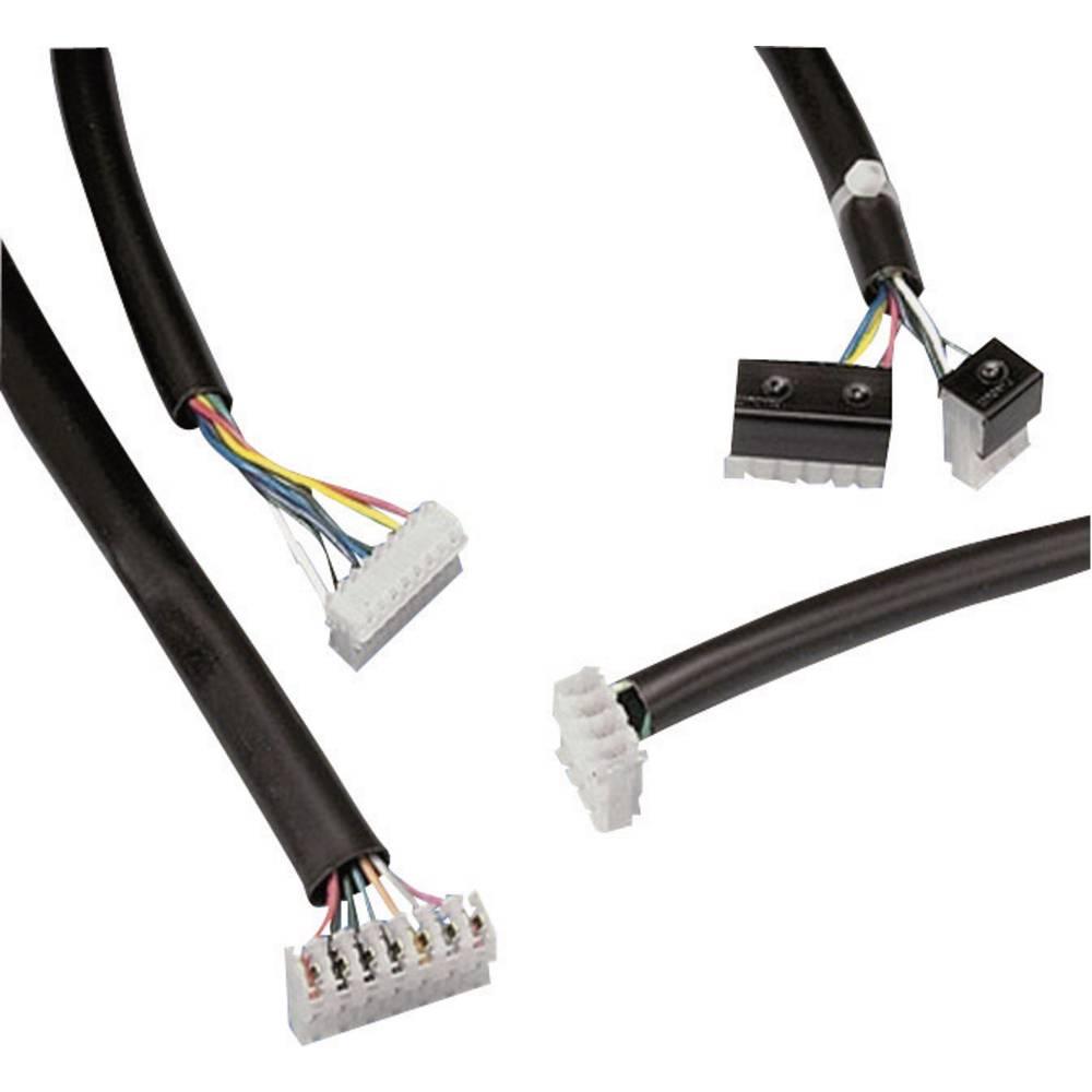 Izolacijska cev Panduit TV105-3M20Y, notranji premer: 6 mm,črne barve, metrsko blago
