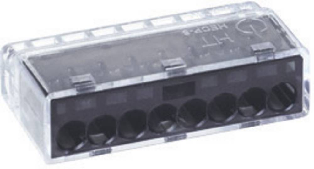 Povezovalna sponka HellermannTyton HelaCon Plus, prečni prerez: 0,5-2,5 mm2, 24 V, siva 148-90005