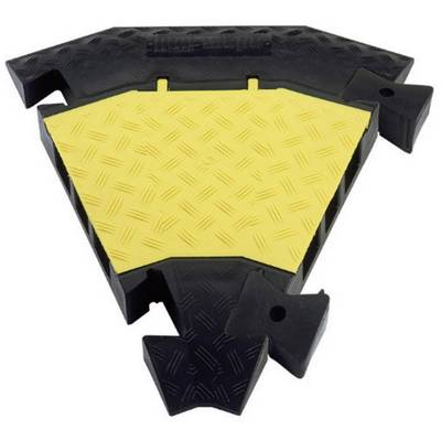 Adam Hall 45 degree connector Polyurethane Black-yellow No. of channels: 3 Content: 1 pc(s)