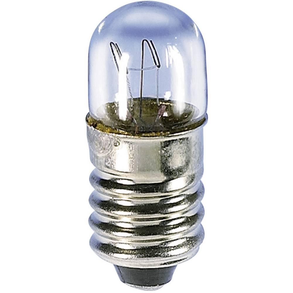 Majhna cevasta žarnica 24 V 2 W 80 mA podnožje=E10 jasna Barthelme vsebina: 1 kos