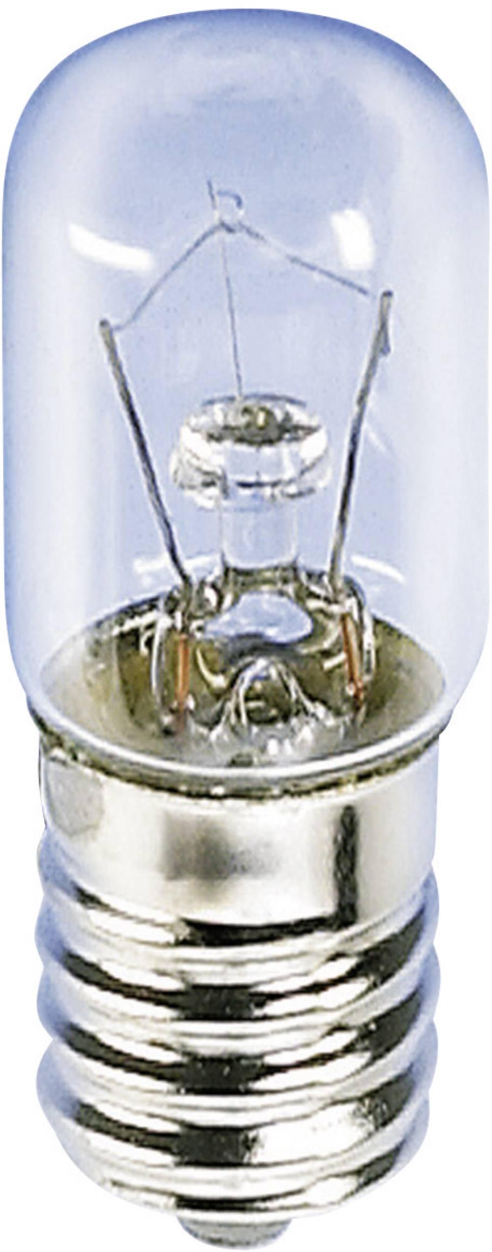 Cijevasta žarulja 220 - 260 V 6 - 10 W 38 mA podnožje=E14 čista Barthelme sadržaj: 1 kom.