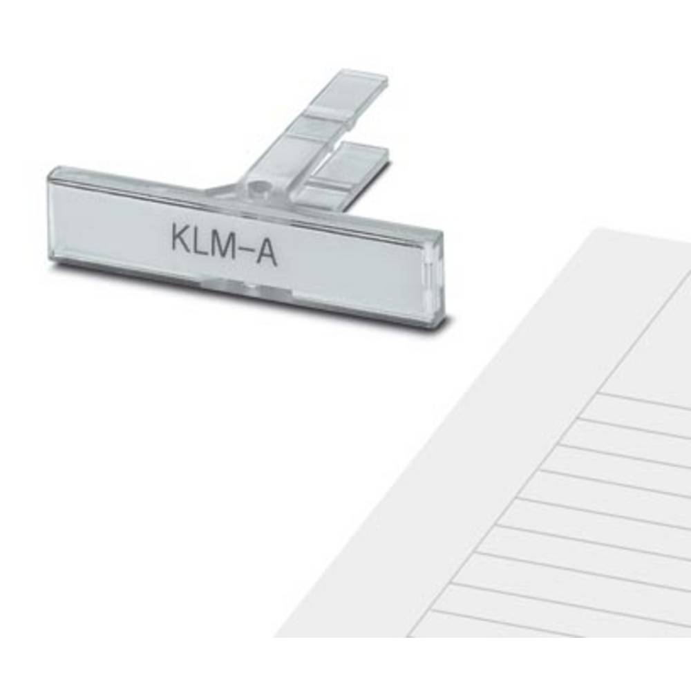 KLM-A - Terminal Block Marker KLM-A Phoenix Contact Indhold: 100 stk