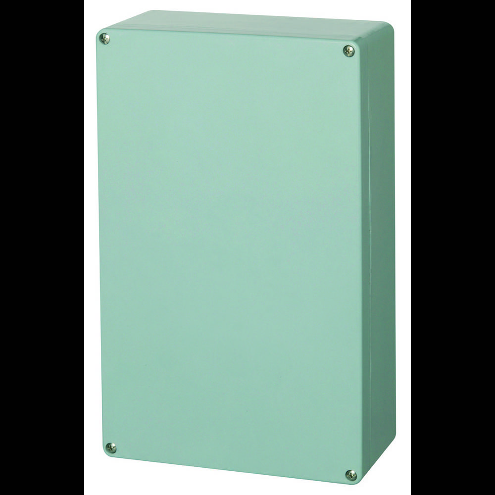 Universalkabinet 250 x 400 x 120 Polyester Sølvgrå (RAL 7001) Fibox P 254012 1 stk