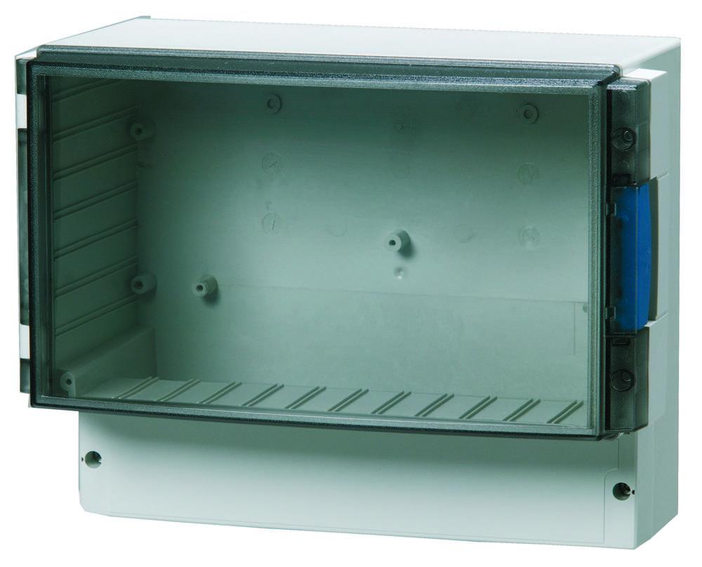 Universalkabinet 280 x 219 x 156 ABS Lysegrå (RAL 7035) Fibox ABS 25/22-3 1 stk