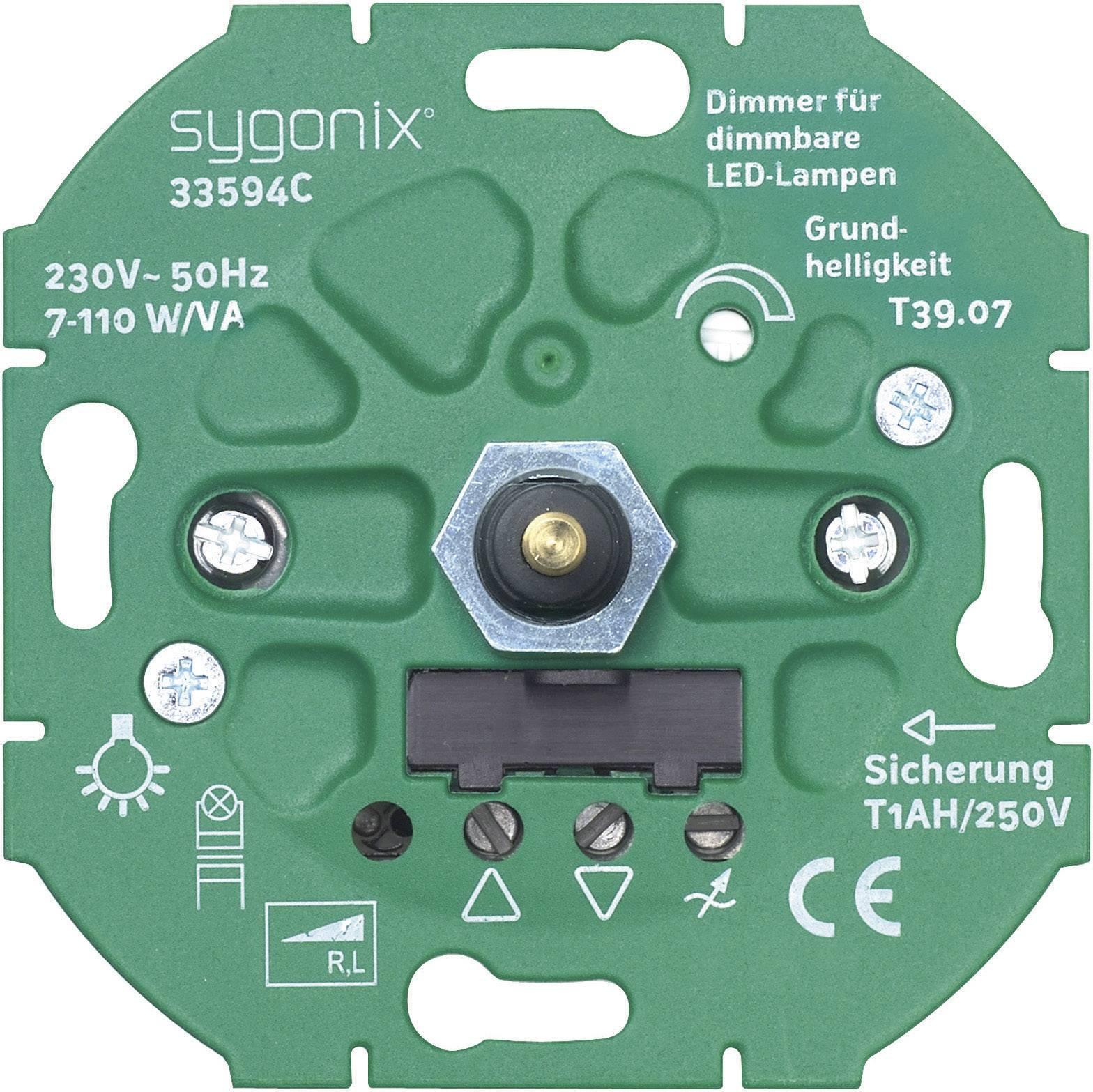 Wunderbar Sygonix Insert Dimmer SX.11 33594C