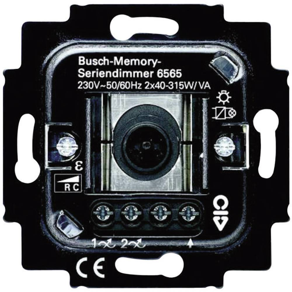 busch jaeger insert dimmer duro 2000 si linear duro 2000 from conrad electronic uk. Black Bedroom Furniture Sets. Home Design Ideas
