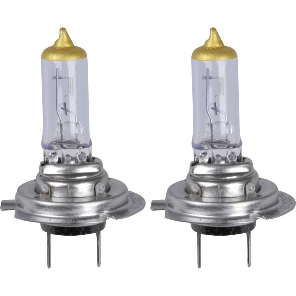 Avtomobilska halogenska žarnica Unitec Xenon Gold, H7, 12 V, 1 par, PX26d, prozorna 77767