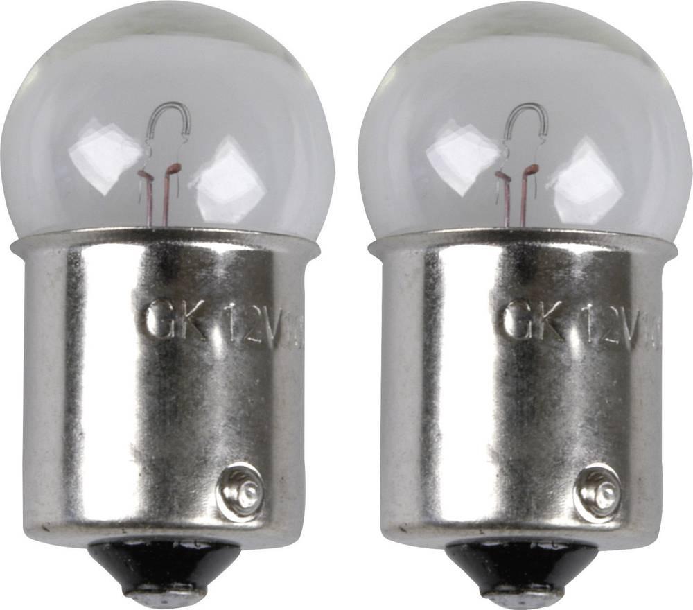 Standardna žarulja Unitec, R10W, 12 V, 1 par, BA15s, prozirna 77845
