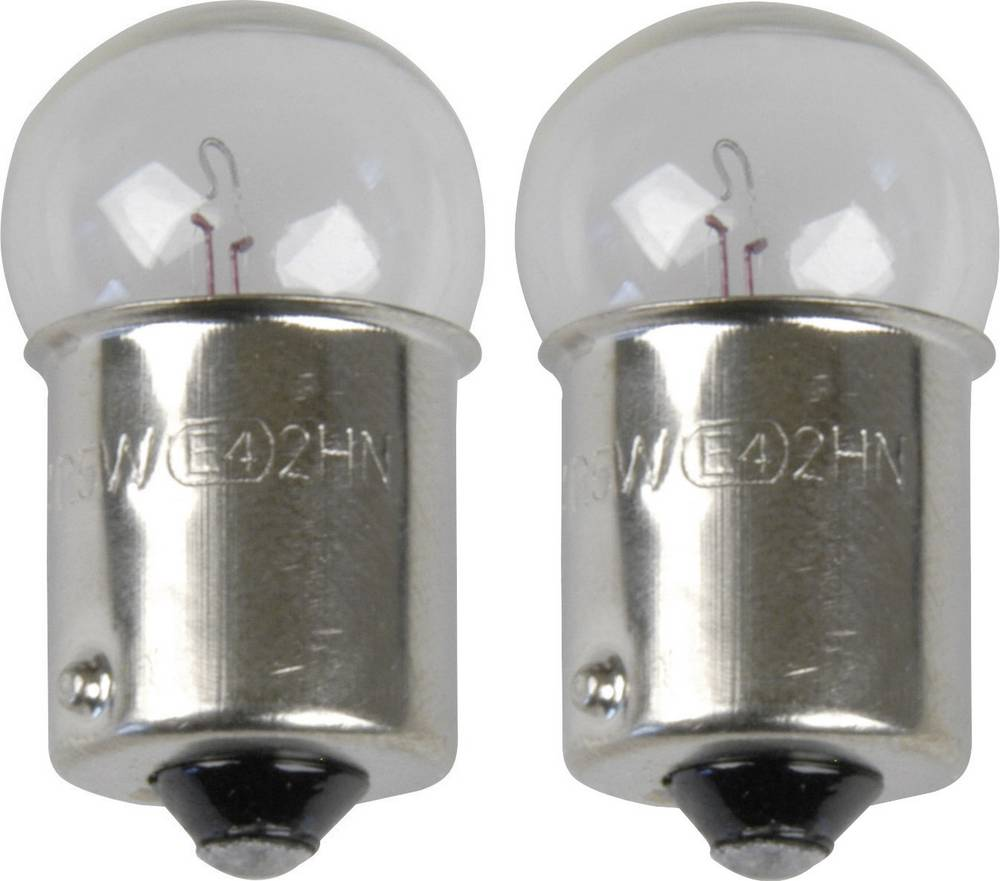 Standardna žarulja Unitec, R5W, 12 V, 1 par, BA15s, prozirna 77831