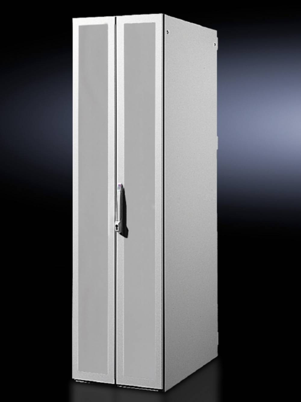 Dør med rude Rittal DK 7816.382 lukket (B x H) 800 mm x 2200 mm Stålplade Lysegrå (RAL 7035) 1 stk