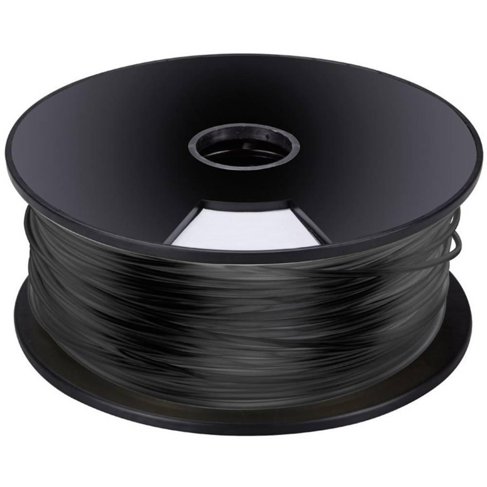 Velleman plastična nit za 3D printer K8200, ABS3B1 crna ABS3mm 1 kg