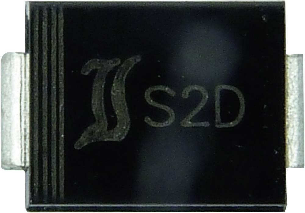 Si-usmerniška dioda Diotec S2A DO-214AA 50 V 2 A