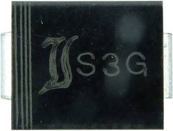 Brza Si-ispravljačka dioda TRU Components TC-FR3G DO-214AB 400 V 3 A