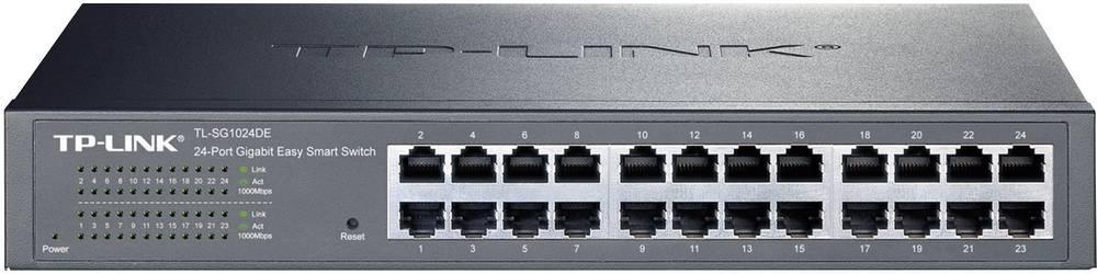 24-vratno gigabitno enostavnopametno omrežno stikalo TP-LinkTL-SG1024DE