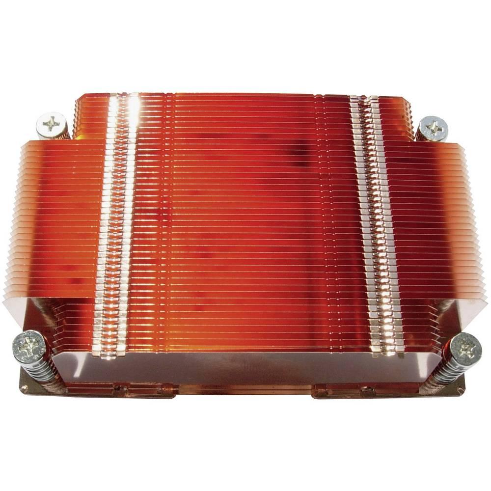 3-D toplotni difuzor z lamelami (D x Š x V) 106 x 70 x 25.5 mm QuickCool QHD-02007