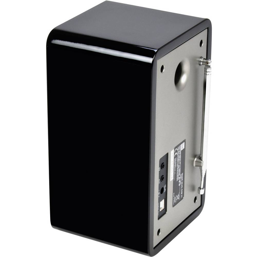 Dual Dual DAB 31 Digitalradio Bathroom Radio, Black from ...