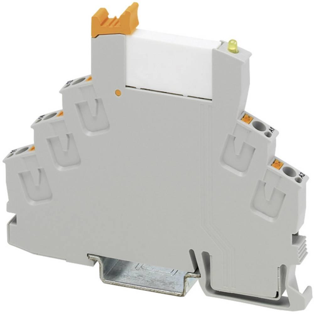 Relækomponent 1 stk Phoenix Contact RIF-0-RPT-24DC/21AU Nominel spænding: 24 V/DC Brydestrøm (max.): 50 mA 1 x skiftekontakt
