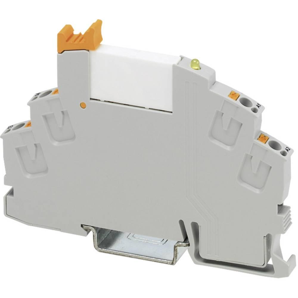 Relækomponent 1 stk Phoenix Contact RIF-0-RPT-12DC/ 1 Nominel spænding: 12 V/DC Brydestrøm (max.): 6 A 1 x sluttekontakt